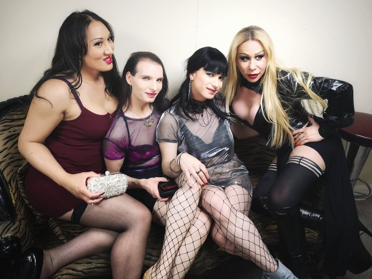 Red Stairs party May 2019